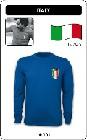 ITALIEN RETRO TRIKOT LANGARM BLAU - Kleid - Trikots - Pullover