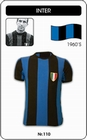 INTER MAILAND - INTER MILANO - TRIKOT - Shirts - Trikots - 60er Jahre