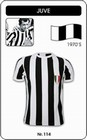 JUVENTUS TURIN - Shirts - Trikots - 70er Jahre