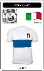 ITALIEN RETRO TRIKOT 1960 WEIß - Shirts - Trikots - 60er Jahre