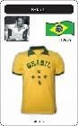 BRASILIEN RETRO TRIKOT 1960 - Shirts - Trikots - 60er Jahre