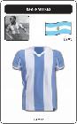 ARGENTINIEN RETRO TRIKOT FUSSBALLTRIKOT - Shirts - Trikots - 70er Jahre