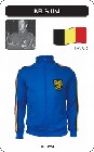 BELGIEN RETRO TRAININGSJACKE BLAU - Kleid - Trikots - Jacken