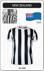 NEW ZEALAND 1969 SHORT SLEEVE - TRIKOT