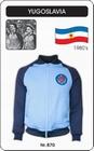 JUGOSLAWIEN RETRO JACKE FUSSBALL 1980