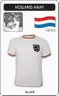 HOLLAND NIEDERLANDE RETRO TRIKOT AUSWÄRTS - Shirts - Trikots - 70er Jahre