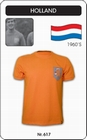 NIEDERLANDE RETRO TRIKOT (HOLLAND) - Shirts - Trikots - 60er Jahre