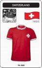 SCHWEIZ - SWITZERLAND - TRIKOT - Shirts - Trikots - 70er Jahre