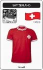 SCHWEIZ RETRO TRIKOT - Shirts - Trikots - 70er Jahre