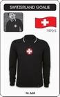 SCHWEIZ - SWITZERLAND - RETRO TORWARTTRIKOT - Kleid - Trikots - Pullover