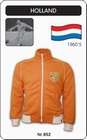 NIEDERLANDE HOLLAND RETRO TRAININGSJACKE - Kleid - Trikots - Jacken