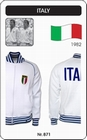 ITALIEN RETRO TRAININGSJACKE FUSSBALL 1982 - Kleid - Trikots - Jacken