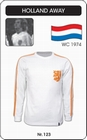 HOLLAND - RETRO TRIKOT - Kleid - Trikots - Pullover