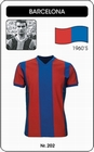 BARCELONA - TRIKOT - Shirts - Trikots - 60er Jahre