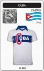 KUBA RETRO TRIKOT WEISS - Shirts - Trikots - 60er Jahre