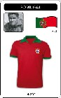 PORTUGAL RETRO TRIKOT 1972 - Shirts - Trikots - 70er Jahre