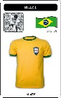 BRASILIEN - BRAZIL - WORLD CUP 1970 - TRIKOT - Shirts - Trikots - 70er Jahre