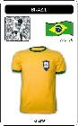 BRASILIEN RETRO TRIKOT 1970 - Shirts - Trikots - 70er Jahre