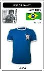 BRASILIEN RETRO TRIKOT 1970 BLAU - Shirts - Trikots - 70er Jahre