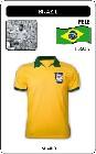 BRASILIEN RETRO TRIKOT GELB - Shirts - Trikots - 60er Jahre