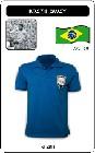 BRASILIEN RETRO TRIKOT BLAU AUSWÄRTS - Shirts - Trikots - 60er Jahre