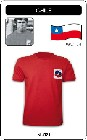 1 x CHILE WORLD CUP 1974 - TRIKOT