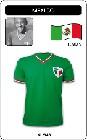 MEXIKO RETRO FUSSBALLTRIKOT - Shirts - Trikots - 80er Jahre