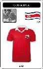 COSTA RICA RETRO TRIKOT - Shirts - Trikots - 80er Jahre
