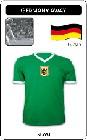 DEUTSCHLAND RETRO TRIKOT GRÜN AUSWÄRTS - Shirts - Trikots - 70er Jahre