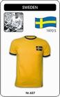 SCHWEDEN RETRO TRIKOT KURZARM - Shirts - Trikots - 70er Jahre