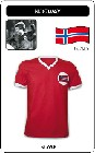 NORWEGEN - NORWAY - TRIKOT - Shirts - Trikots - 70er Jahre