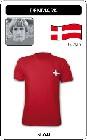 DÄNEMARK RETRO TRIKOT - Shirts - Trikots - 70er Jahre