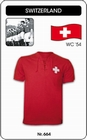 SCHWEIZ - SWITZERLAND - WORLD CUP 1954 - TRIKOT - Shirts - Trikots - 60er Jahre