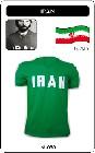 IRAN TRIKOT RETRO FUSSBALLTRIKOT - Shirts - Trikots - 70er Jahre