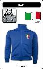 ITALIEN RETRO JACKE - BLAU - Kleid - Trikots - Jacken