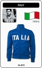 ITALIEN RETRO JACKE MIT SCHRIFTZUG - Kleid - Trikots - Jacken