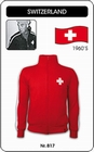 SCHWEIZ - SWITZERLAND - JACKE - Kleid - Trikots - Jacken