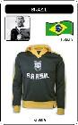 BRASILIEN RETRO JACKE FUSSBALL - Kleid - Trikots - Jacken