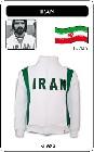 IRAN FUSSBALL RETRO JACKE - Kleid - Trikots - Jacken