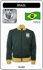 BRASILIEN RETRO JACKE - Kleid - Trikots - Jacken