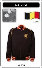 BELGIEN RETRO TRAININGSJACKE SCHWARZ - Kleid - Trikots - Jacken
