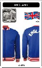 ENGLAND RETRO TRAININGSJACKE - Kleid - Trikots - Jacken