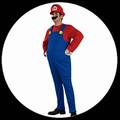 SUPER MARIO KOSTM -  DELUXE