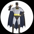 BATMAN RETRO KOSTM DELUXE - 60ER JAHRE - ANIMATED SERIES