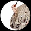 SHERLOCK HOLMES PFEIFE UND LUPE KIT - Kostueme - Accessoires
