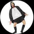 PARTY PONCHO - PINGUIN - Kostueme - Accessoires - Ponchos