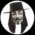 V WIE VENDETTA PERCKE - Kostueme - Accessoires - Peruecken