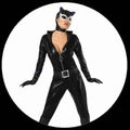 CATWOMAN KOSTM DELUXE - OVERALL