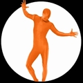 1 x K�RPERANZUG - BODYSUIT - ORANGE