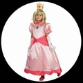 PRINZESSIN PEACH KINDER KOSTM - SUPER MARIO WORLD